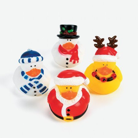Christmas Holiday Rubber Ducky - 12 Count](Christmas Rubber Duckies)