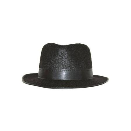 Permalux Fedora Hat - Black