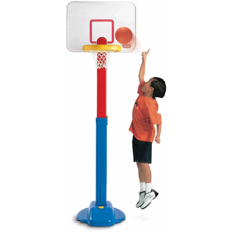 Little Tikes Adjust 'n Jam Basketball Set by MGA Entertainment