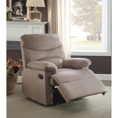 Oakwood Woven Fabric Recliner, Multiple Colors