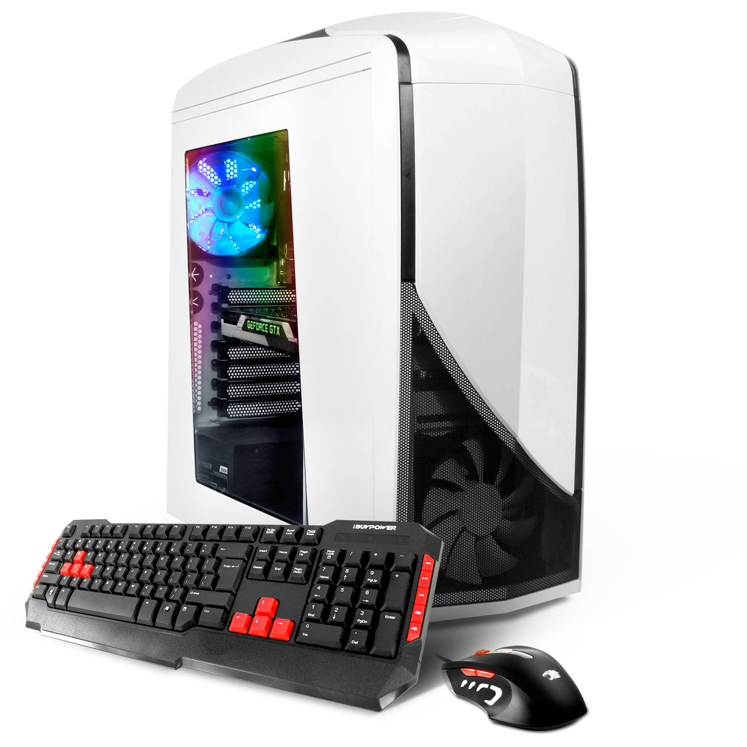 iBUYPOWER Phantom Gamer WA501i Desktop PC with Intel Skylake Core i5-6600K Quad-Core Processor, 8GB Memory, 1TB Hard Drive and Windows 10 Home (Monitor Not Included)