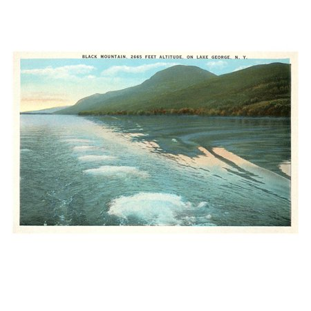 Black Mountain on Lake George, New York Print Wall (Lake George Mountain)