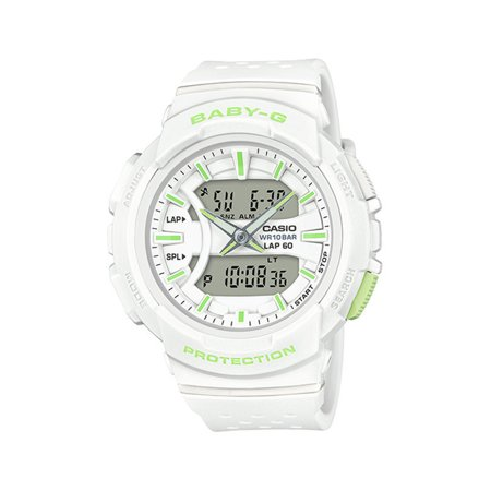 Baby G Women's Running Watch (White) BGA240-7A2