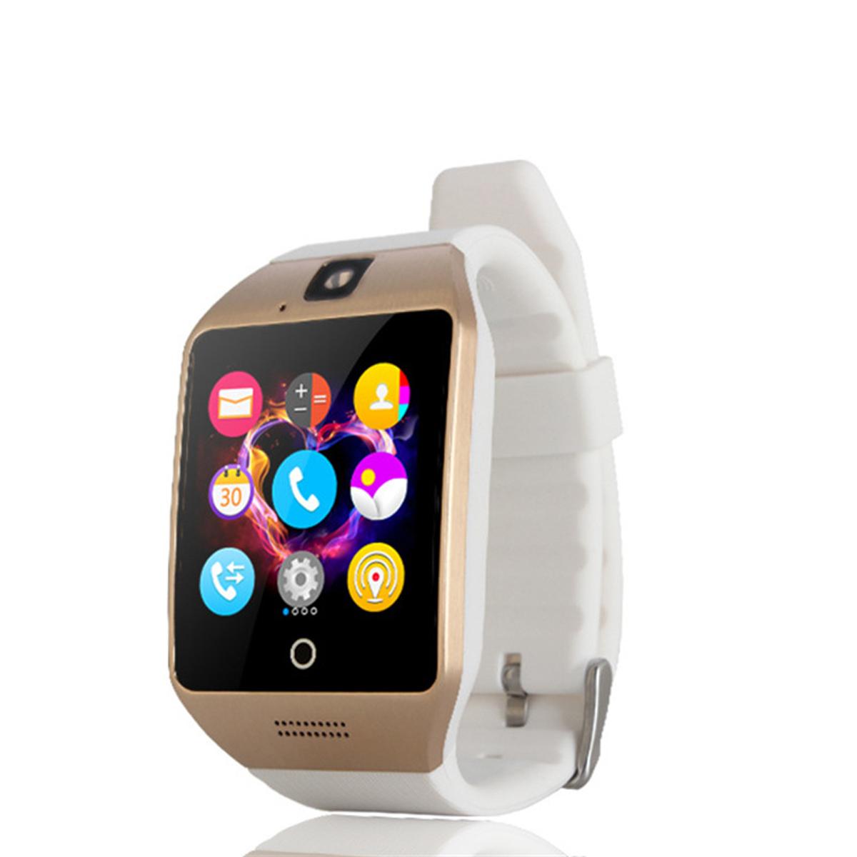 TechComm Q18 Bluetooth NFC GSM Unlocked Smart Watch with Camera
