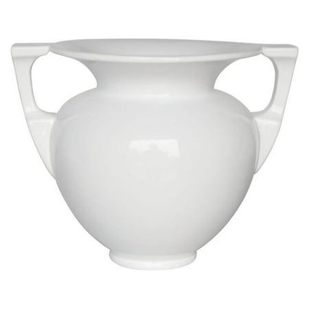 Sagebrook Home Modern 2 Handled Decorative Urn Table Vase Walmart