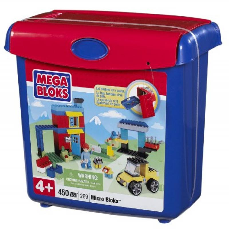 Megabloks Micro Bloks Scoop'n Build Bucket classic