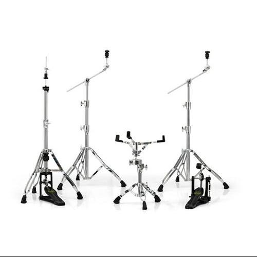 Mapex Armory Chrome/Black Hardware Pack w/ Single Pedal