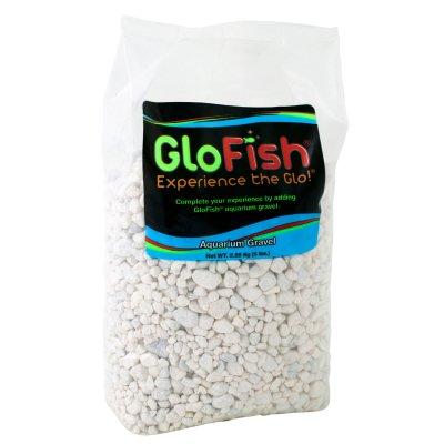 Saltwater Aquarium Gravel - GloFish White Accent Gravel for Aquariums, 5-Pounds