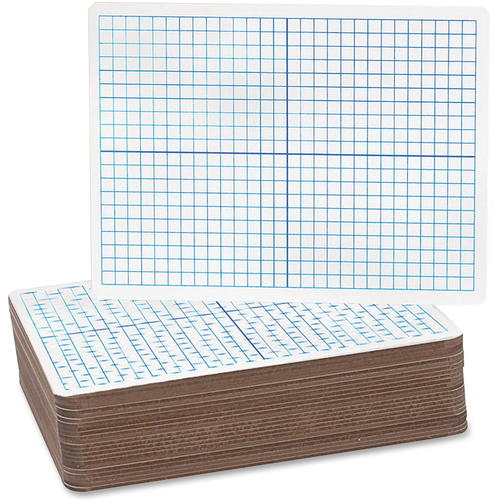 Flipside, FLP12000, X/Y Axis/Plain Dry Erase Board, 24 / Pack