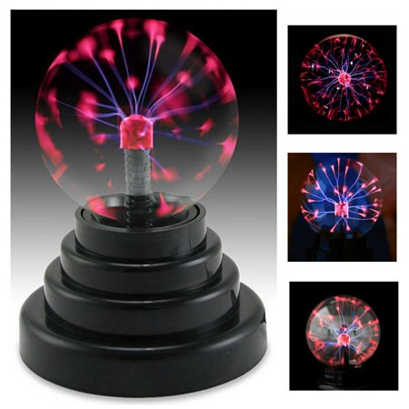 3'' Magic USB Plasma Ball Electrostatic Sphere Light Desktop Lightning Crystal Glass Lamp Ball Christmas Party Home Decoration Gift