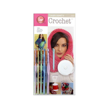 Boye I Taught Myself To Crochet Kit, 1 Each (Learn To Crochet)