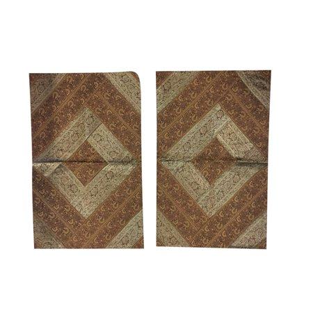 Mogul Decorative Toss Pillow Sham Vintage Silk Sari Indian Patchwork Pillow Cover Home Decor 30