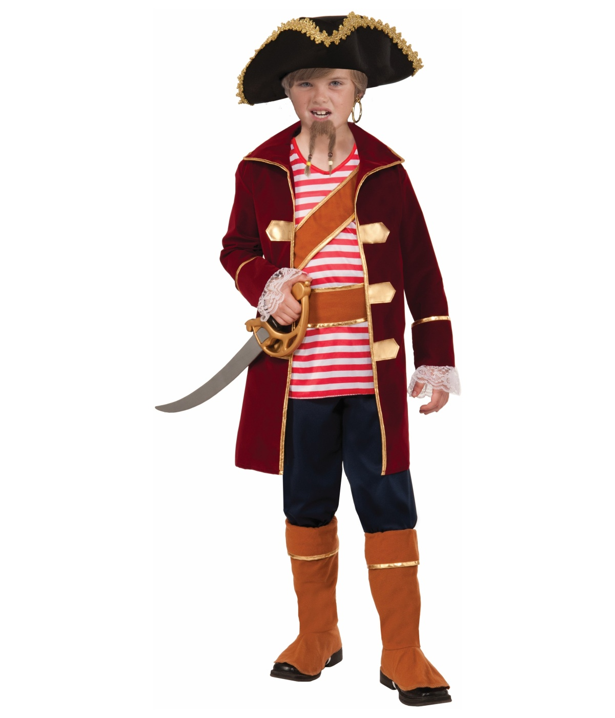 Captain of the Ship Pirate big Boys Costume by Forum Novelties