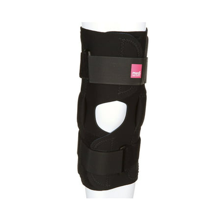 Hinged Neoprene Knee Brace best for weak, sore, or misalignment injuries, The medi neoprene knee stabilizer provides relief from knee instability, weak or sore.., By Medi From