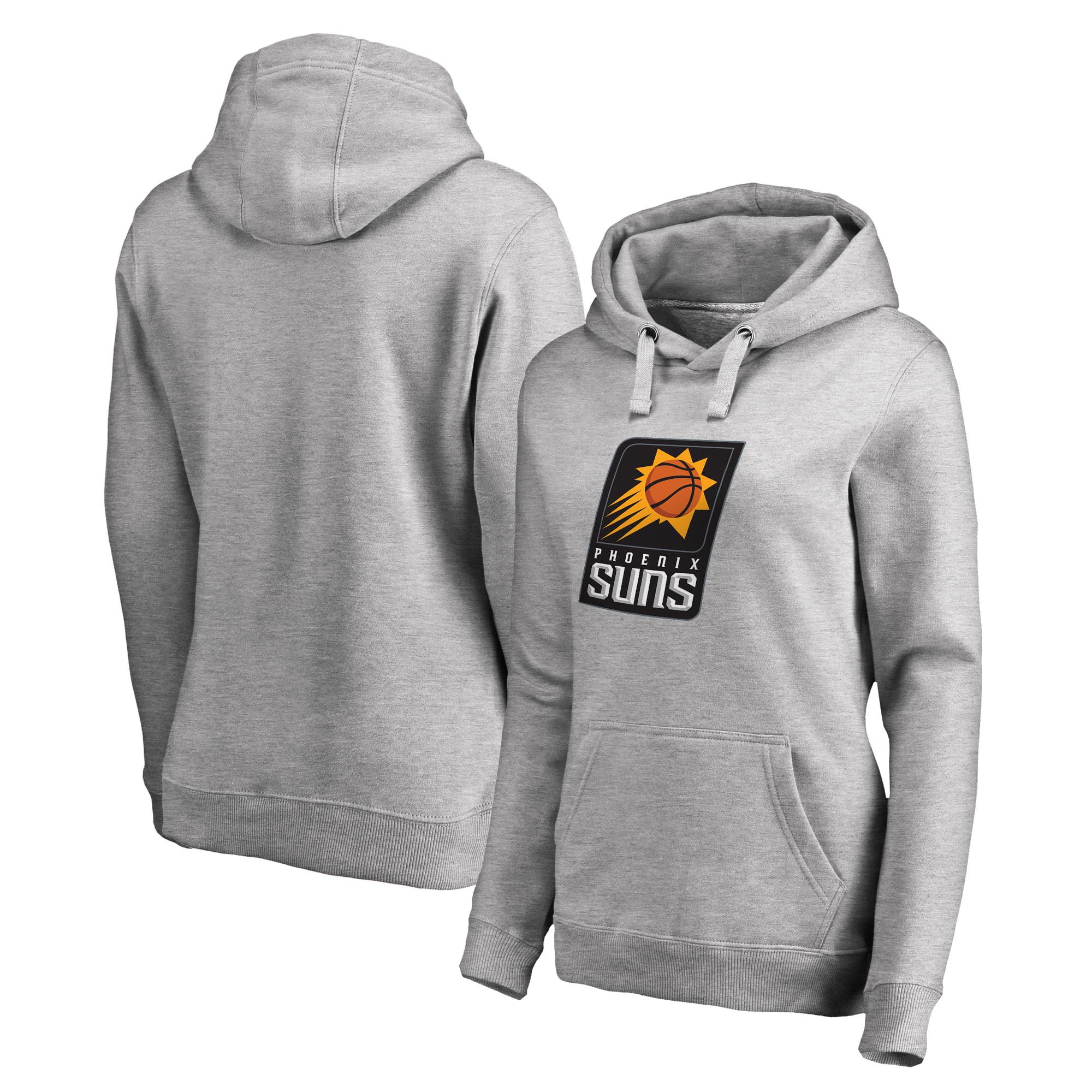 Phoenix Suns Fanatics Branded Women's Primary Logo Pullover Hoodie - Ash