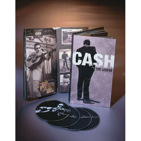 Johnny Cash   The Legend  Box Set   Cd