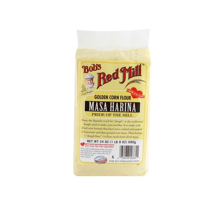 (3 Pack) Bob's Red Mill Masa Harina Golden Corn Flour, 24 Oz - Harina Pan Venezuela