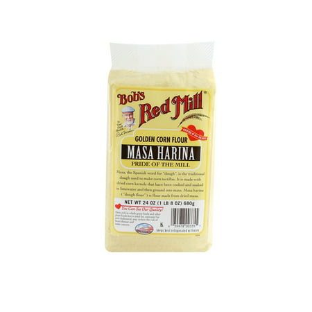 (3 Pack) Bob's Red Mill Masa Harina Golden Corn Flour, 24 (Best Home Flour Mills)