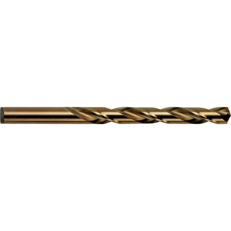 Irwin 631 Jobber Length Drill, 1/4 in Dia x 2-1/2 in OAL, Cobalt High Speed Steel