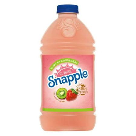 Snapple Kiwi Strawberry 64 Oz Plastic Bottles Pack of 8