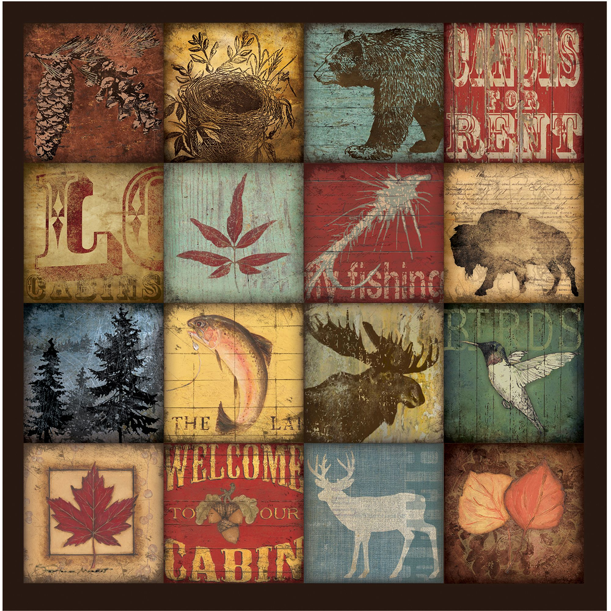 Thirstystone Occasions Drink Coasters, Lodge 16 Patch