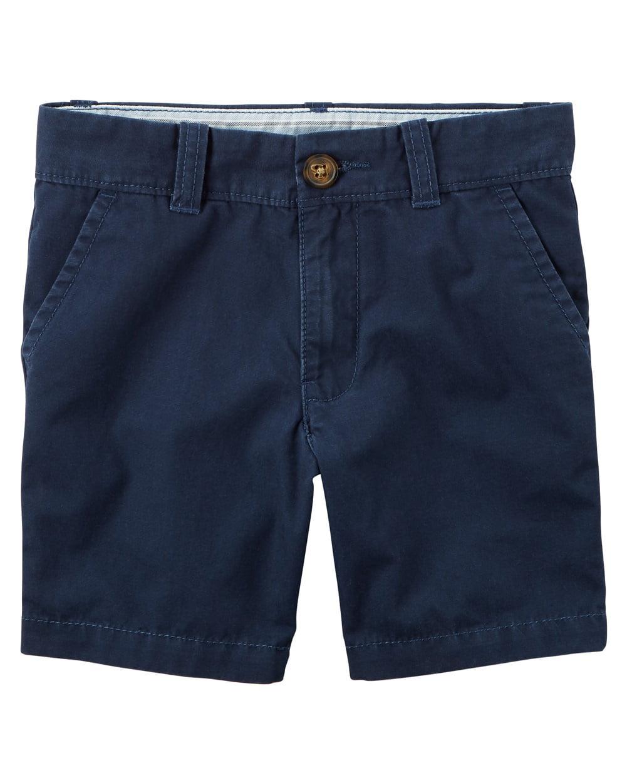 Carter's Little Boys' Uniform Flat-Front Shorts, 4-Toddler