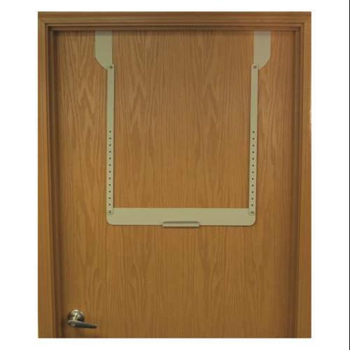 BOWMAN MFG CO MB-450 Door Hanger,Brown,29-1/2 in. H