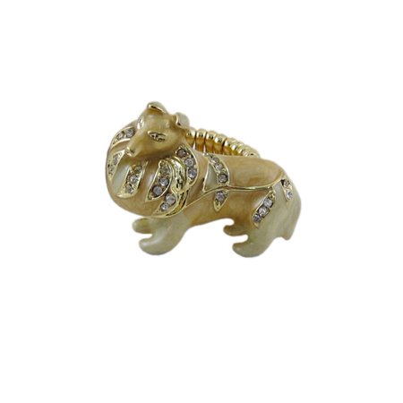 Collie Stretchy Ring Oversize - Stretchy Rings