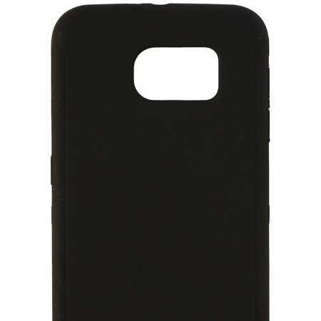 Insignia Soft Shell Protective Gel Case Cover for Samsung Galaxy S6 - Black - image 1 of 3
