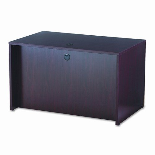 Basyx by HON 48'' BL Laminate Series Rectangular Executive Desk Shell