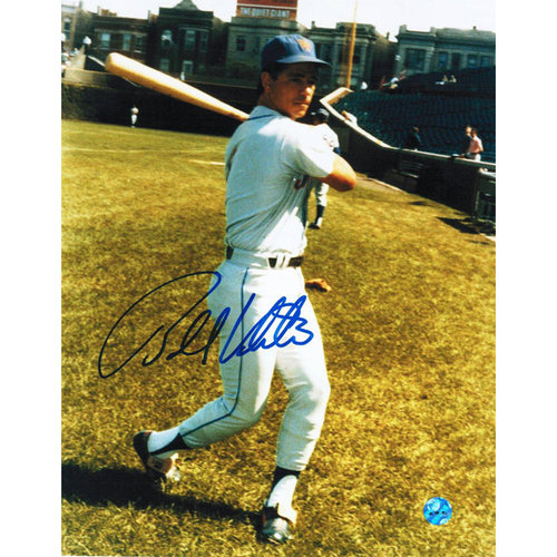 MLB - Bobby Valentine New York Mets Autographed 8x10 Photograph - Swinging-