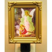 Guardian Angel Night Light Molded, Ul Approved Plug,
