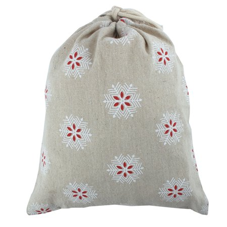 Cotton Linen Home Outdoor Drawstring Storage Pouch Packing