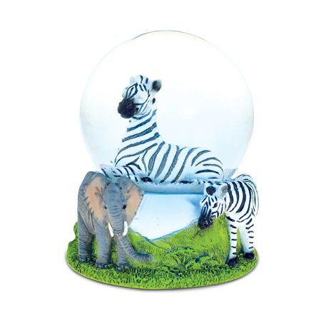 Diy Snowglobes (Snow Globe Zebra (65MM))