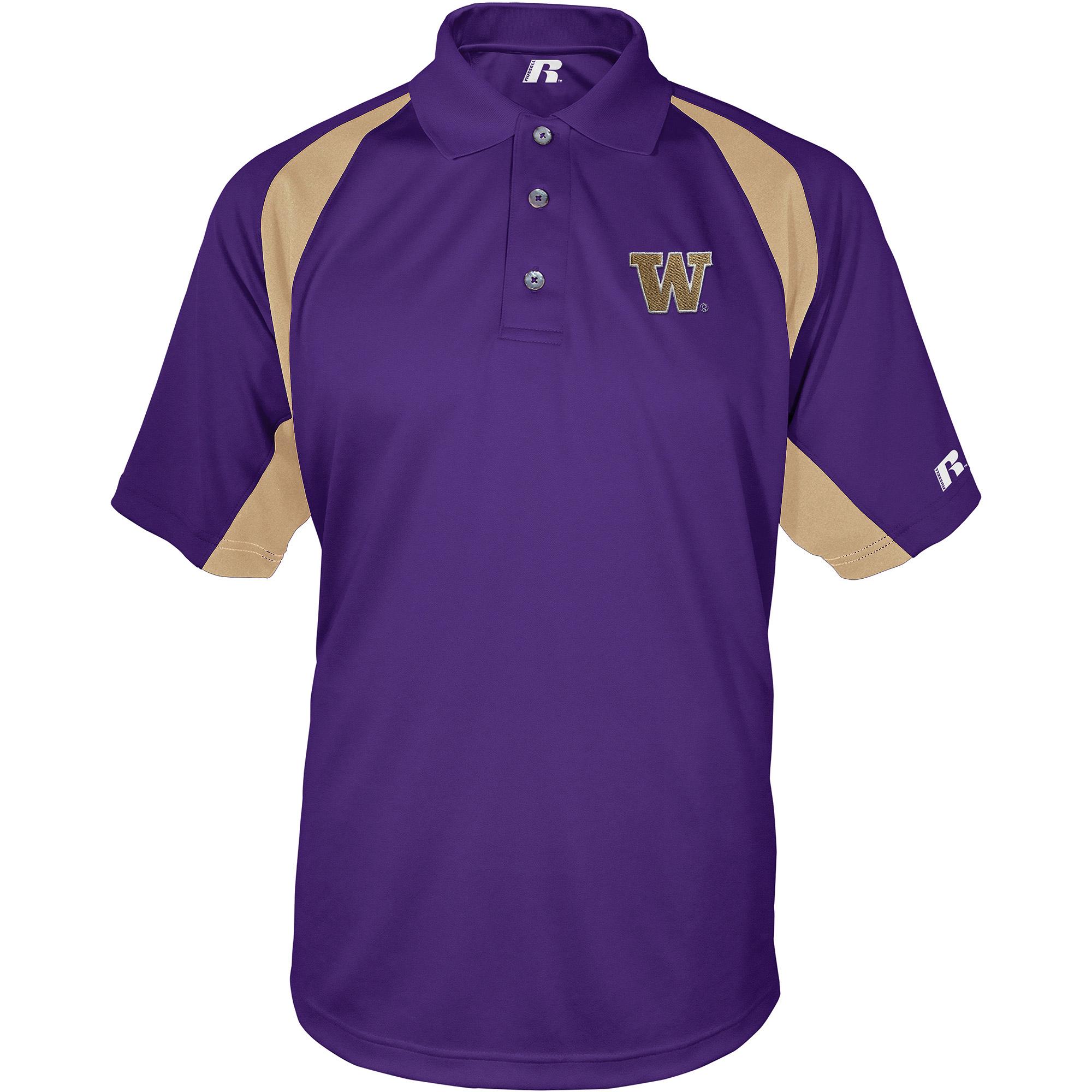 Russell NCAA Washington Huskies, Men's Synthetic Polo