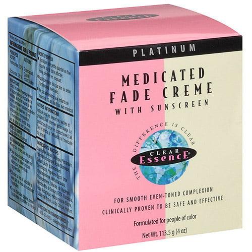 Clear Essence Platinum Medicated Fade Creme, 4 oz