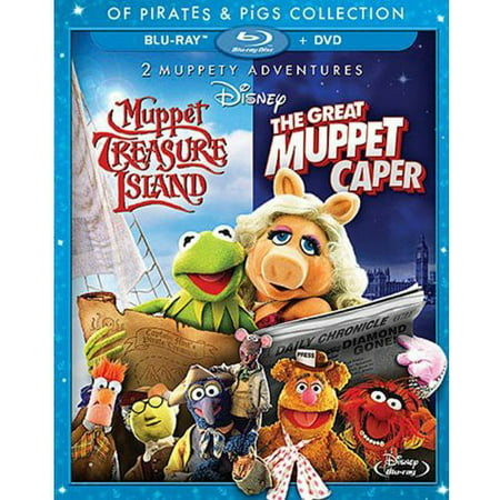 Muppet Treasure Island & The Great Muppet Caper (Of Pirates & Pigs Collection) (Blu-ray + DVD)