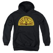 Sun Records Traditional Logo Big Boys Pullover Hoodie