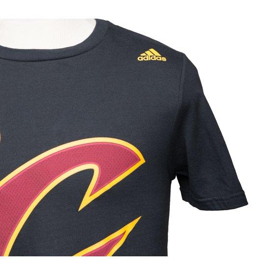 best service 5c8e8 eed6c Adidas NBA Cleveland Cavalier Lebron James Net Tee Shirt - Black