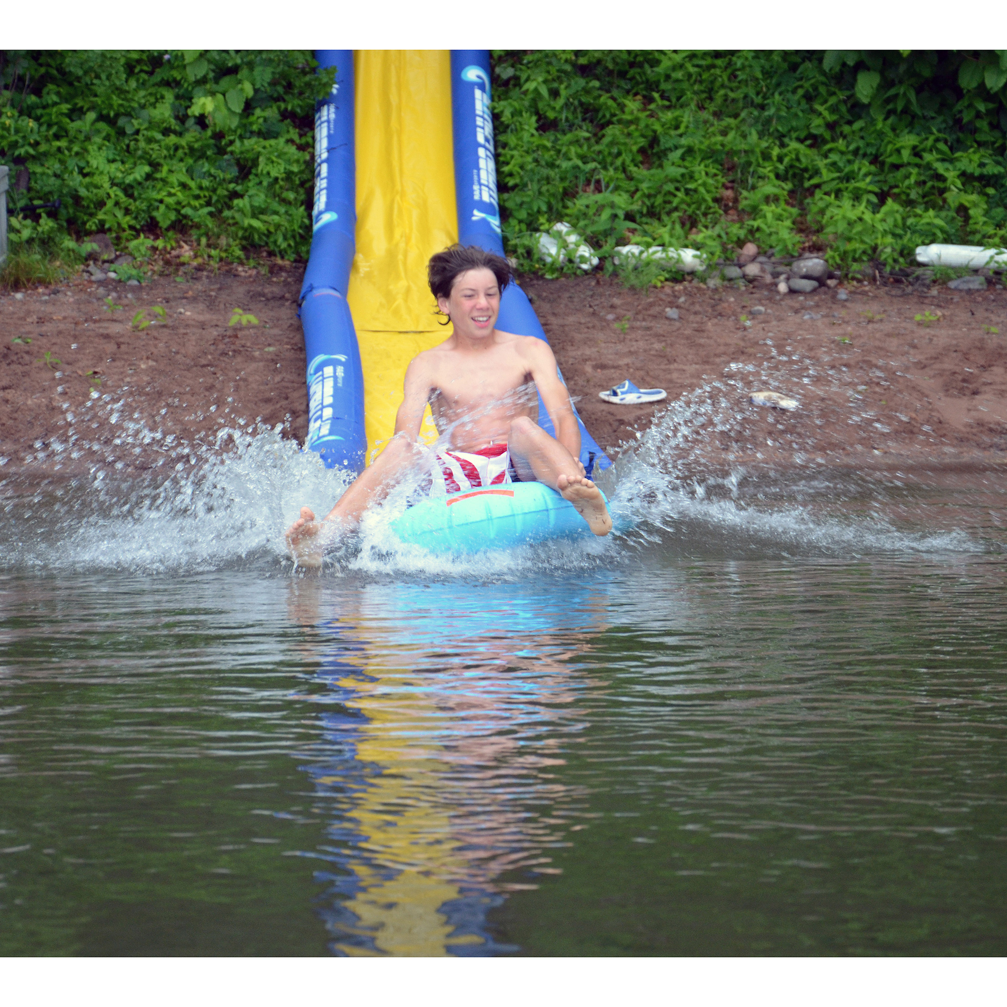Rave Sports Tubo Chute Waterslide Lakeshore Package