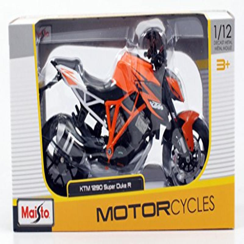 KTM 1290 Super Duke R Orange Motorcycle Model 1 12 by Maisto 13065 by