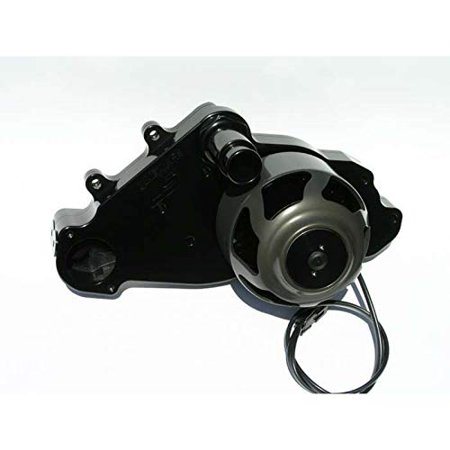 Meziere WP319S Black Billet Electric Water Pump for Small Block Chevy LS1