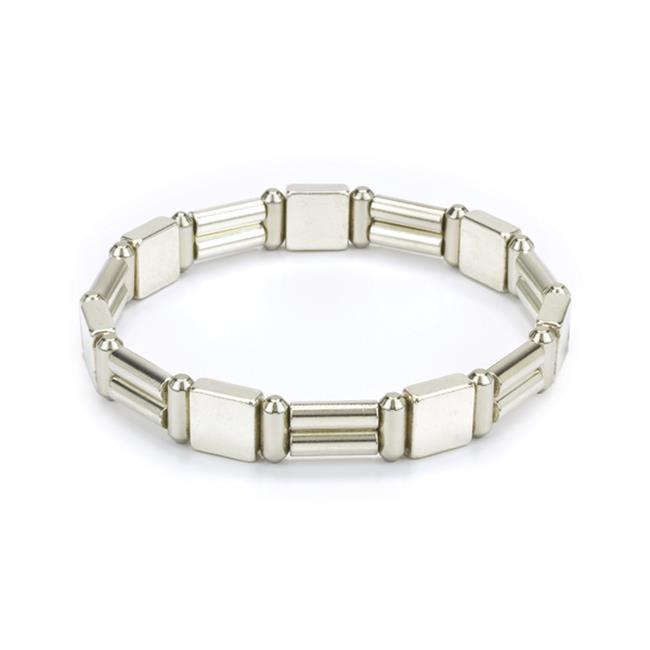 L Michaels Jewelry BM3080SS Neodymium Magnetic Bracelet