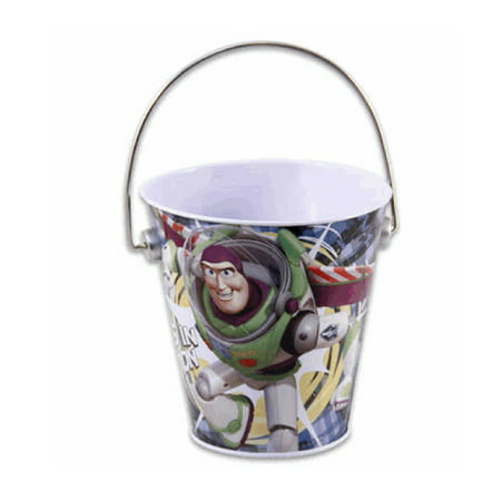 Small Tin Buckets (Toy Story Tin Bucket - Toy Story Small)