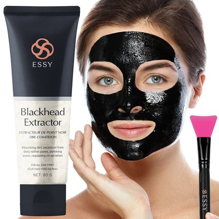 Black Peel off Mask,Charcoal Blackhead Remover Mask 80 gram- Deep Cleansing Mask, Deep Pore Cleanse for Acne, Oil Control, and Anti-Aging Wrinkle