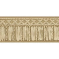 Brewster Home Fashions 15' x 5.13'' Tribal Rope Geometric Border Wallpaper