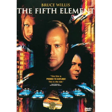 The Fifth Element (DVD) - 5th Element Leeloo