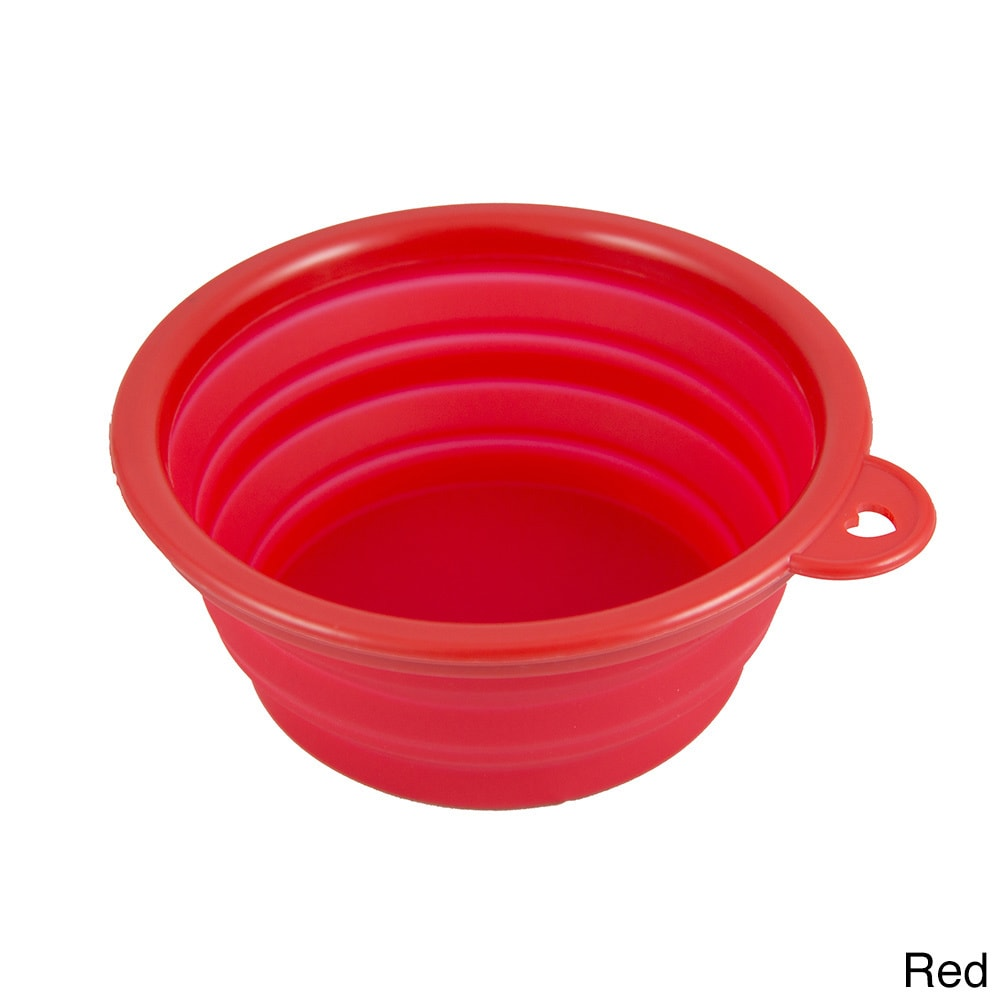 Petcessory  Pet Collapsible Silicone Travel Bowl