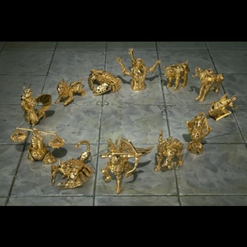 Saint Seiya Appendix Mini Gold Cloths Objects (12) [JAPAN]