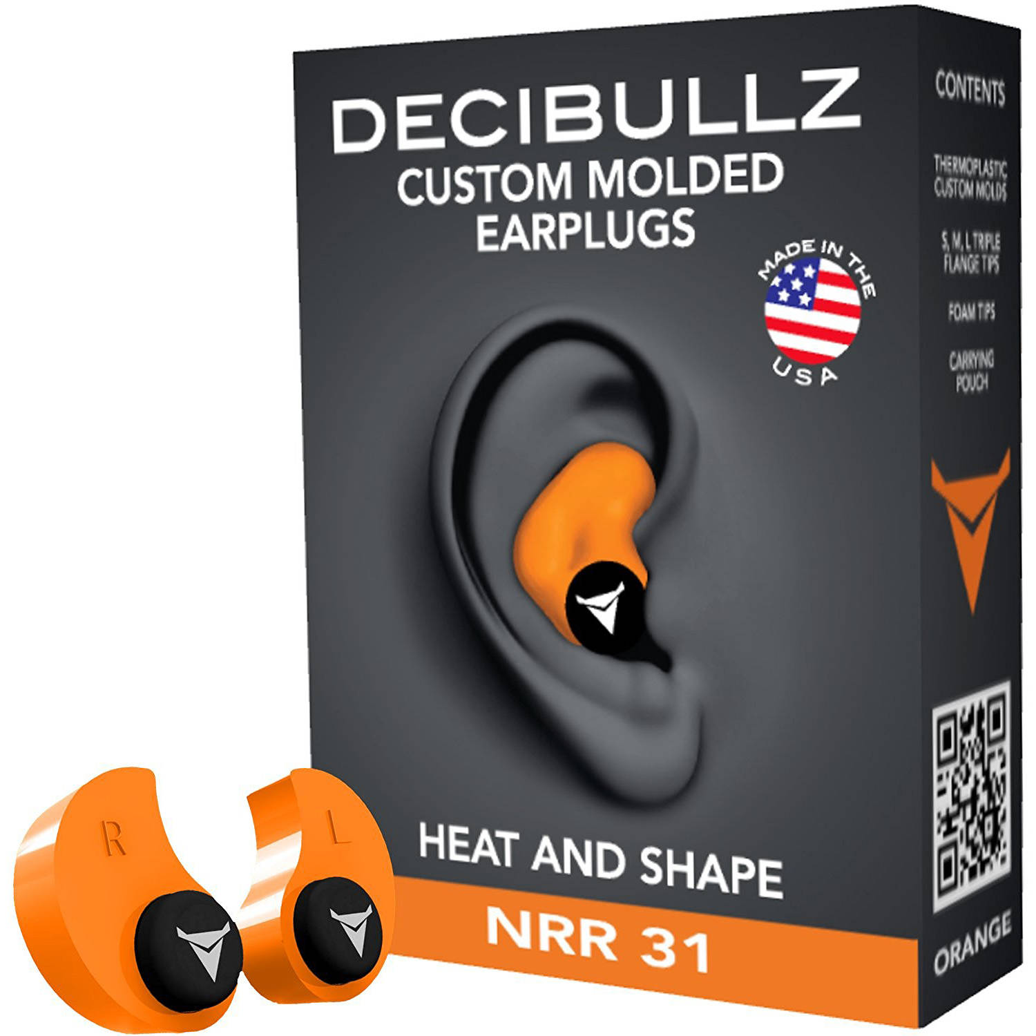Decibullz Custom Molded Earplugs